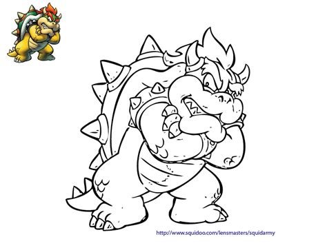 mario characters coloring pages az coloring pages
