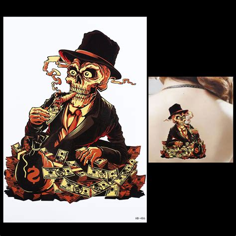 Tattoo Money Aufkleber by Tattoo Bilder Sch 228 Del Werbeaktion Shop F 252 R Werbeaktion