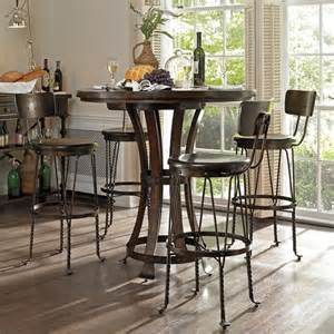 Kitchen Bar Table Sets Stanley Furniture European Farmhouse 5 Pub Set 018 11 34 5pkg