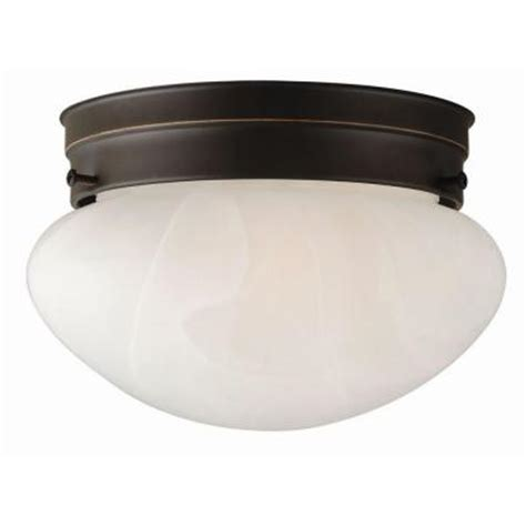 Ceiling Fixtures Home Depot by Design House Millbridge 1 Light Rubbed Bronze Ceiling
