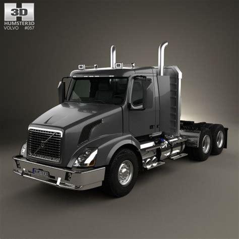 volvo semi truck models volvo vnx 300 tractor truck 2013 3d model volvo models