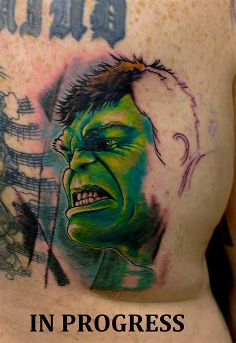 incredible hulk tattoo designs 17 best images about marvel tattoos on