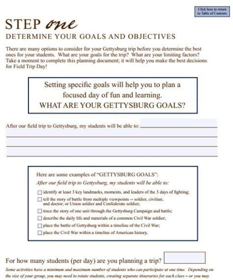 field trip lesson plan template plan template