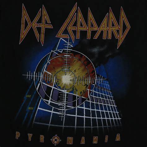 def leppard pyromania world tour 1983 full movie def leppard pyromania tour shirt 1983 wyco vintage