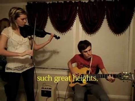 the section quartet such great heights such great heights cover violin guitar youtube
