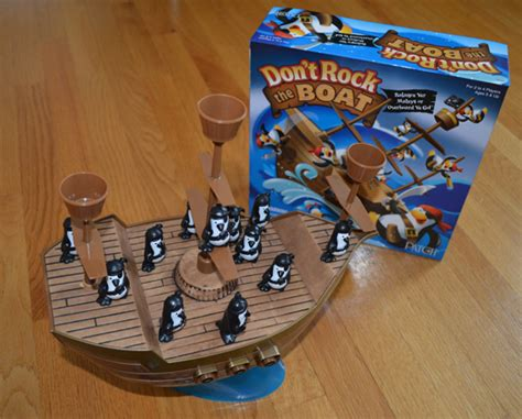 don t rock the boat don t rock the boat toy etic plastic action games return