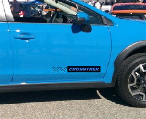 subaru crosstrek decal purchase subaru xv crosstrek decals 20 inch motorcycle