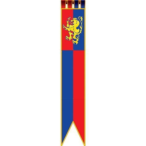 Medieval Banner 1ft x 6ft   Party City