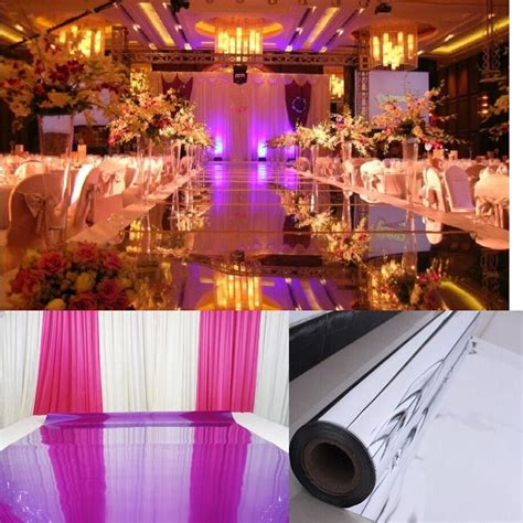 Wedding Aisle Carpet by Wedding Mirror Carpet For Aisle Runner Alternative