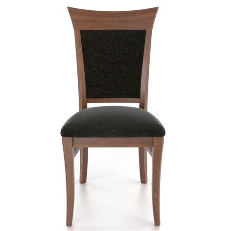 Custom Dining Chairs Upholstered Canadel Custom Dining Customizable Upholstered Side Chair Jacksonville Furniture Mart Dining