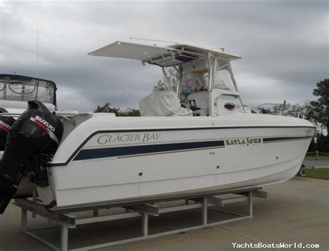 catamaran for sale delaware glacier bay 2665 canyon runner used yachts boats for