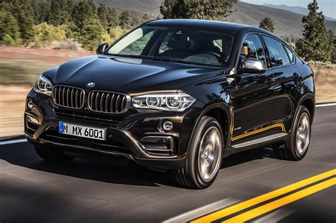 2015 bmw x6 side view up road photo 1