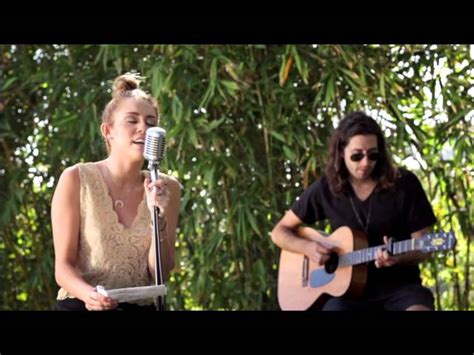 backyard session miley cyrus the backyard sessions lilac wine