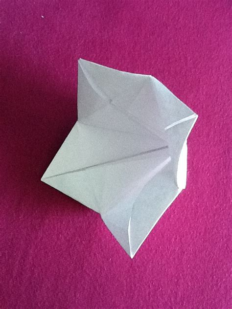 Origami Bell - origami bell flower by nightrideralice on deviantart