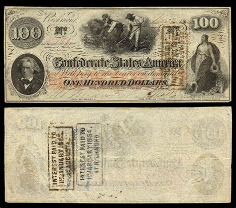 How Do They Make Paper Money - confederate paper money