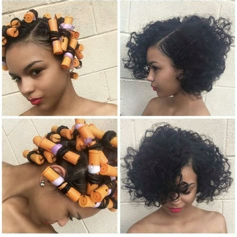 Roller Set Hairstyles For Black Hair by 887 Best Images About Happy Nappy Hair Styles On