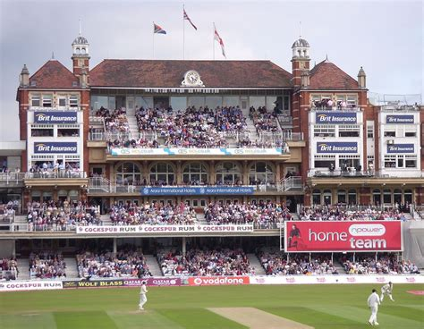 list of international cricket centuries at the oval - Pavillon Oval