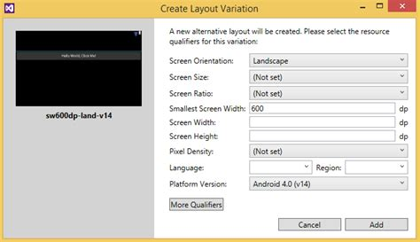 xamarin android multiple layout multi view edit with the xamarin android designer
