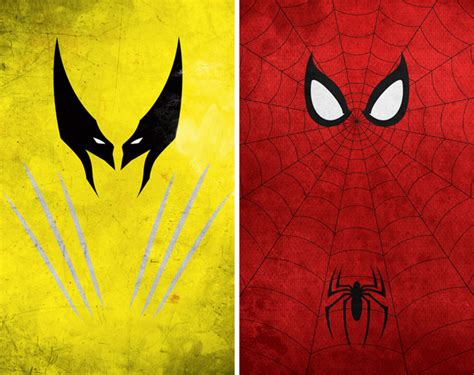super minimalist superhero minimalist posters by calvin lin hiconsumption