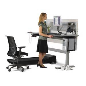 Sit Standing Desk Sit To Walkstation Treadmill Desk Sit Stand Or Walk The Green