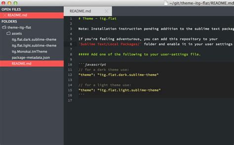sublime themes html 35 cool sublime text themes designbeep