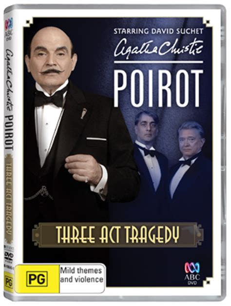 three act tragedy poirot 0007234414 agatha christie s poirot three act tragedy dvds