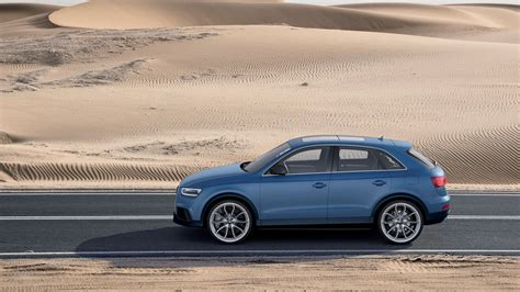 audi q3 car audi q3 blue cars desert road car vehicle 187 car wallpapers