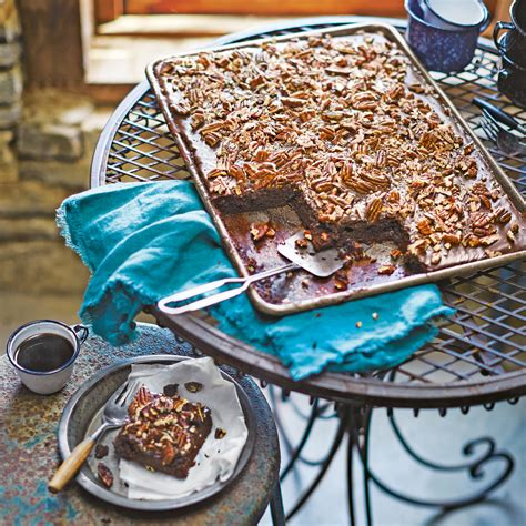 cooking light texas sheet cake texas sheet cake with fudge icing recipe myrecipes