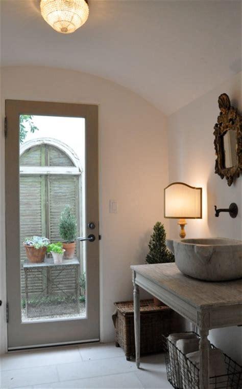 Bathroom Vanity With Glass Door Giannetti Home Gorgeous Bathroom With Glass Door