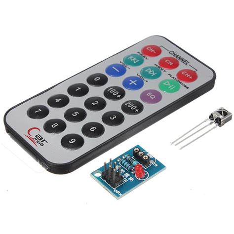 Infrared Ir Wireless Remote Receiver Module For Arduino Hq buy hx1838 receiver nec code infrared remote module ir controller kit bazaargadgets
