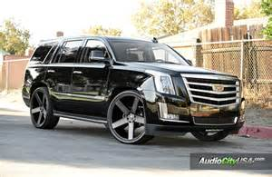 Cadillac On Dubs 2016 Cadillac Escalade On Dubs Search Cars
