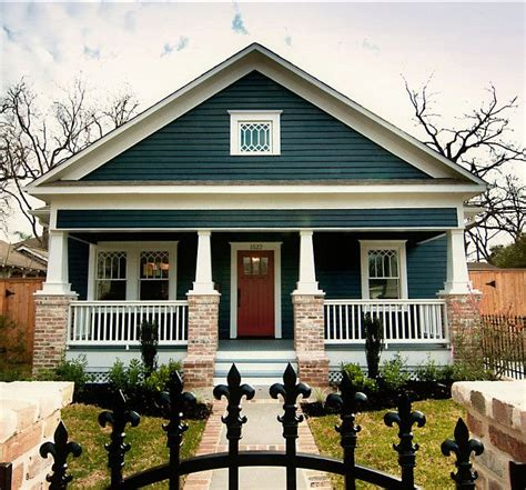 blue craftsman house 10 best practices for blue front door ideas craftsman