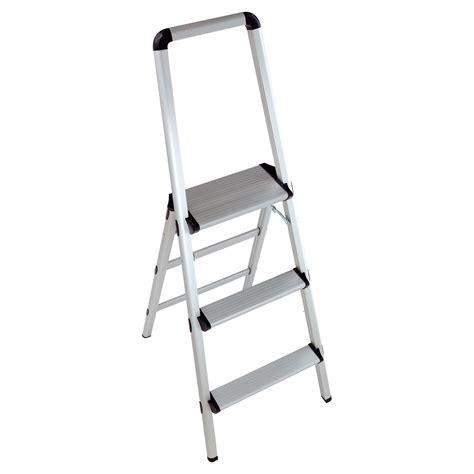 Lightweight 3 Step Stool by Xtend Climb Lightweight Aluminum 3 Step Stool With