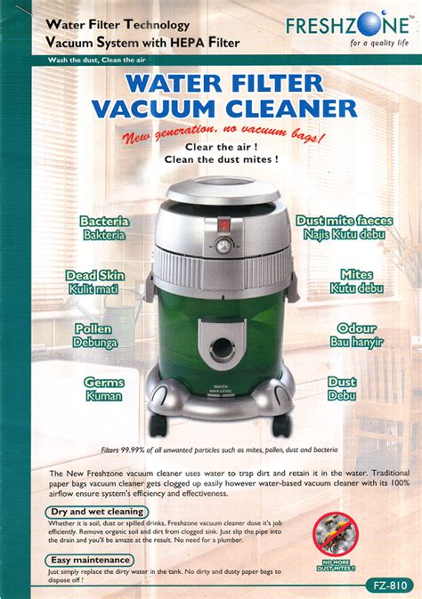 Eco Hydro Filtration Vacuum Cleaner ilham timur s store it0239 hydrofilter vacuum cleaning system