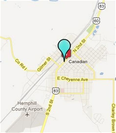 map of canadian texas canadian texas hotels motels see all discounts
