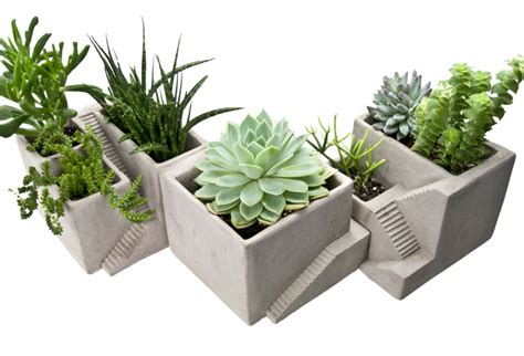 Architectural Planter by Concrete Architectural Style Planters Omero Home