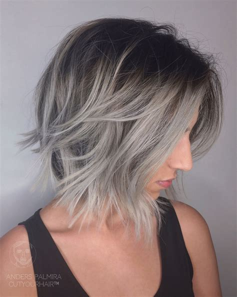 haircuts for straight grey hair aveda wavy long blonde bob short hair beach wave medium