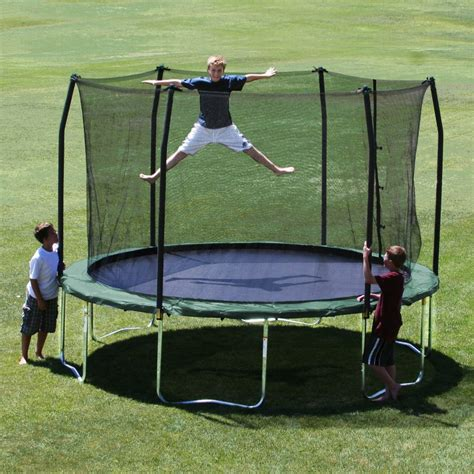 best backyard for kids top 7 best outdoor trolines with enclosure for the kids