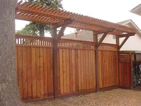 24 Best Fence And Retaining Wall Ideas Images On Pinterest Pergola Privacy Fence