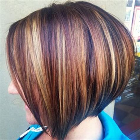 short layered bob with highlights and lowlights short bob hairstyles with highlights and lowlights