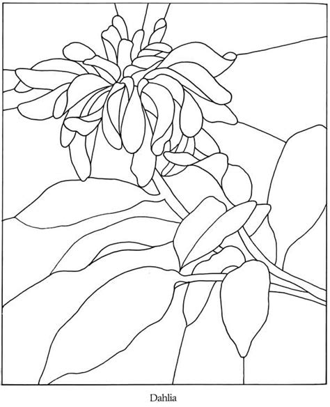 Floral Stained Glass Pattern Book welcome to dover publications