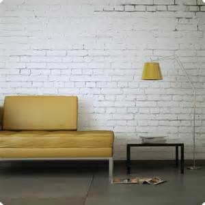 white brick removable wallpaper contemporary wallpaper
