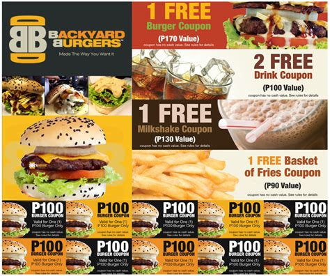 Backyard Burger Free Coupon Backyard Burgers Elite