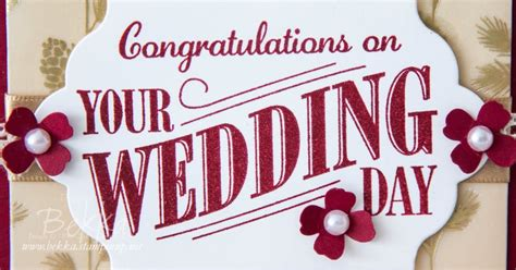 congratulations on ur wedding day stin up uk feeling crafty bekka prideaux stin