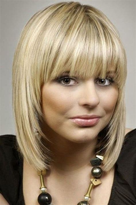 shoulder length haircuts with bangs 13 fabulous medium hairstyles with bangs pretty designs