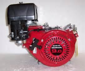 Honda Gx 270 Honda Horizontal Engine 8 5 Net Hp 270cc Generator 4 11 32