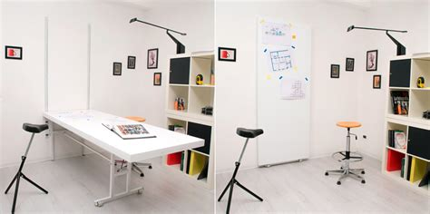 Wall Mounted Folding Table   Space Saving Solutions   NTC