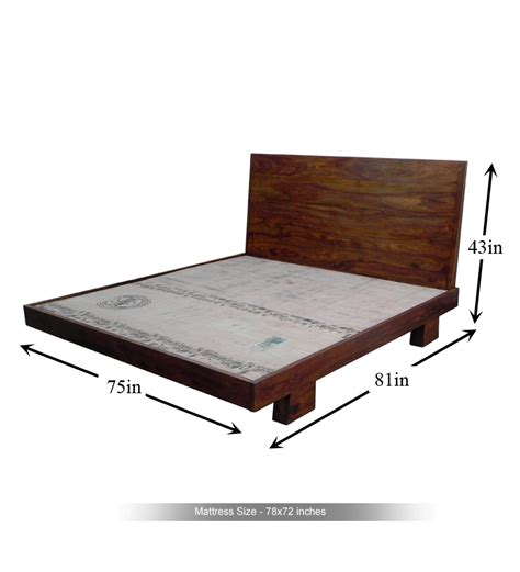 king size bed width cayenne topical king size bed by mudramark online king