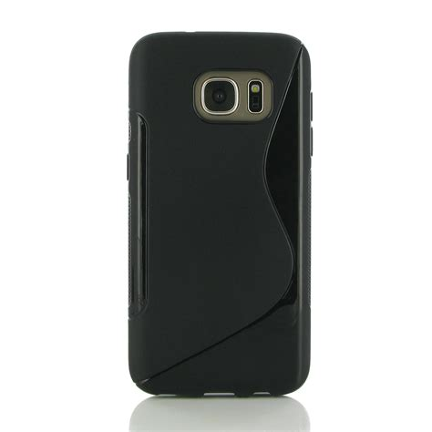 Softcase Samsung S7 samsung galaxy s7 soft black s shape pattern