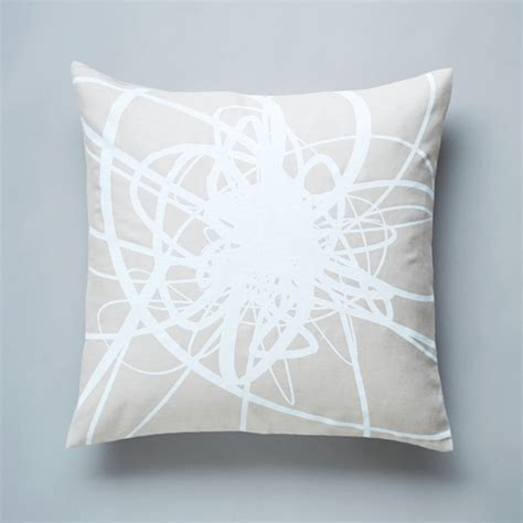 Milk Pillows by Lint Pillow In Milk White Decorative Pillows Toronto